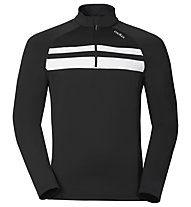 Odlo Tahoe Vista midlayer 1/2 zip, Black/White