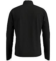 Odlo Trafoi Midlayer 1/2 Zip - maglia a maniche lunghe - uomo, Black