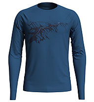 Odlo Alliance - maglia a maniche lunghe - uomo, Blue