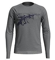 Odlo Alliance - maglia a maniche lunghe - uomo, Grey