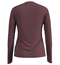 Odlo Alliance - maglia a maniche lunghe - donna, Dark Red