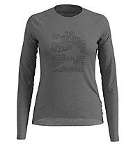 Odlo Alliance - maglia a maniche lunghe - donna, Grey