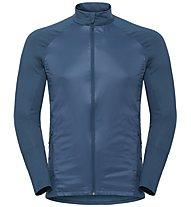 Odlo Velocity Element Light - giacca sci di fondo - uomo, Blue