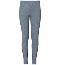 Odlo Warm Kids Pants - lange Unterhose - Kinder, Light Grey