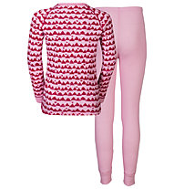 Odlo Warm Kids Shirt Pants Long Set - Unterwäsche Komplet - Kinder, Rose/Pink