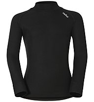 Odlo Warm Kids Shirt LS turtle neck - langärmliges Funktionsshirt - Kinder, Black