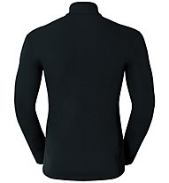 Odlo Warm Shirt L/S Turtle Neck Zip - Funktionsshirt Langarm - Herren, Black
