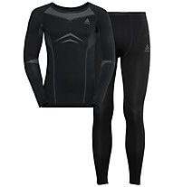 Odlo Winter Specials Performance Evolution Warm - set intimo - uomo, Black