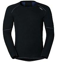 Odlo X-Warm  L/S ShirtCrew Neck - Funktionsshirt Langarm - Herren, Black