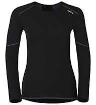 Odlo X-Warm Crew Neck - Funktionsshirt Langarm - Damen, Black