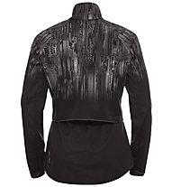 Odlo Zeroweight Pro Warm Reflective - giacca running - donna, Black