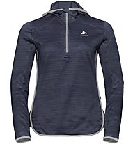 Odlo Steam Hoody Midlayer - Fleecepullover - Damen, Blue