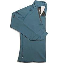 On Clima-Shirt - Laufshirt Langarm - Damen, Blue