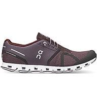 On Cloud - scarpe natural running - uomo, Dark Violet/Dark Red