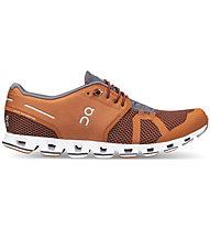 On Cloud - scarpe natural running - uomo, Dark Orange/Grey