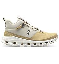 On Cloud Hi - sneakers - donna, Beige