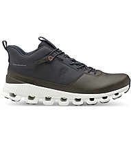 On Cloud Hi - Sneaker - Herren, Brown/Blue