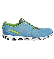 On Cloud M - Neutralrunningschuh - Herren, Diver/Lime