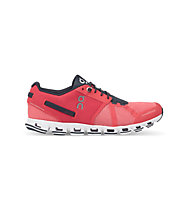 ON Cloud W - scarpe running donna, Coral/Shadow