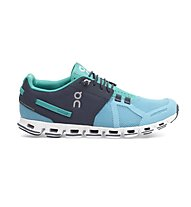 ON Cloud W - scarpe running donna, Atoll/Green