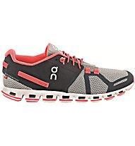 On Cloud W - scarpe natural running - donna, Dark Grey/Pink