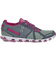 On Cloud W - scarpe natural running - donna, Grey/Pink