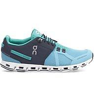 On Cloud W - scarpe natural running - donna, Blue/Light Blue