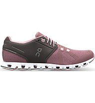 On Cloud W - Natural-Running-Laufschuhe - Damen, Grey/Rose