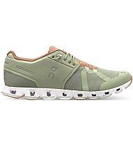 On Cloud W - scarpe natural running - donna, Green/Orange