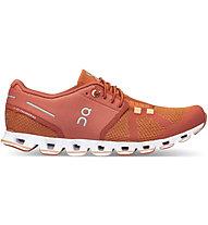 On Cloud W - scarpe natural running - donna, Red/Orange