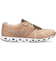 On Cloud W - scarpe natural running - donna, Light Brown/Brown