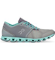 On Cloud X W - scarpe running neutre - donna, Grey/Blue