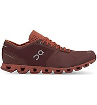 On Cloud X - Stabilitäts-Laufschuh - Herren, Red
