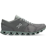 On Cloud X - Stabilitäts-Laufschuh - Herren, Dark Grey/Green