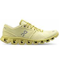 On Cloud X - scarpe running neutre - donna, Yellow