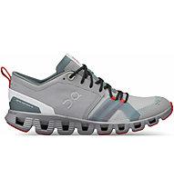 On Cloud X Shift - Sneaker - Herren, Grey/Green/Red