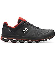 On Cloudace - scarpe running neutre - uomo, Black/Red