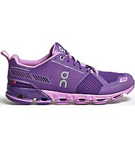 On Cloudflyer - Laufschuh Stabil - Damen, Purple/Rose