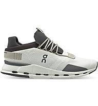 On Cloudnova - Sneaker - Herren, White/Dark Grey
