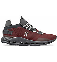 On Cloudnova - Sneaker - Herren, Dark Red/Black