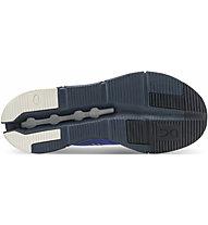 On Cloudnova - Sneaker - Herren, Light Blue/Blue/Orange