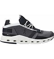 On Cloudnova - Sneaker - Herren, Black/White