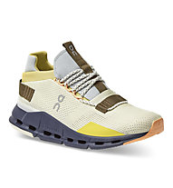 On Cloudnova - sneakers - donna, Yellow/Brown/Grey