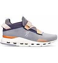 On Cloudnova Wrap - Sneaker - Damen, Violet/Orange