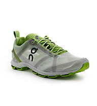 On Cloudracer - scarpe running - uomo, Silver/Lime