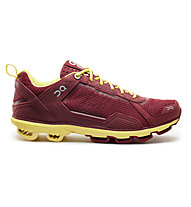 ON Cloudrunner - scarpe running donna, Red/Limelight