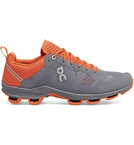 On Cloudsurfer - neutraler Laufschuh - Herren, Grey/Orange