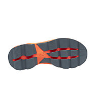 On Cloudsurfer - neutraler Laufschuh - Damen, Grey/Orange
