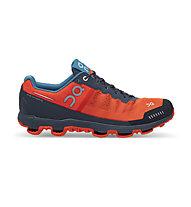 On Cloudventure - scarpe trail running - uomo, Flame/Shadow