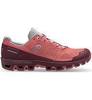 On Cloudventure W - Trailrunningschuh - Damen, Red